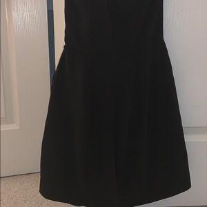 bebe Dresses - Bebe black and white slit dress